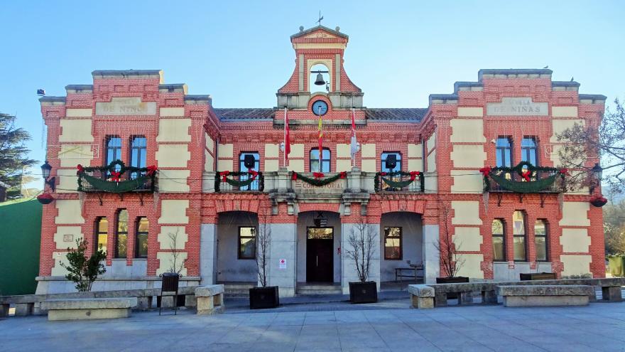 Imagen del ayuntamiento de Rascafría