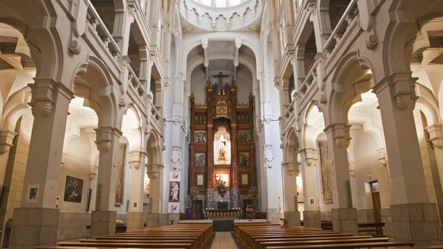 Santa Teresa de Carmelitas Descalzas, en Madrid.