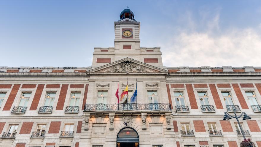 Imagen de la Real Casa de Correos