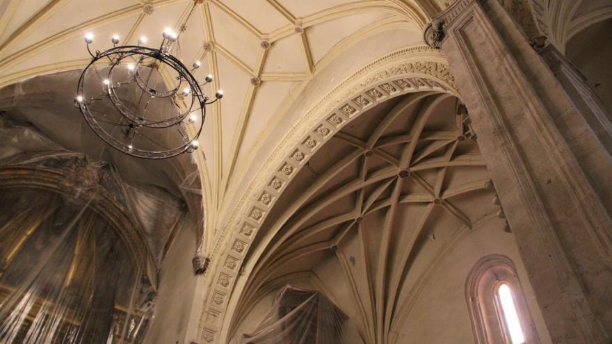 Interior de Santo Domingo de Silos