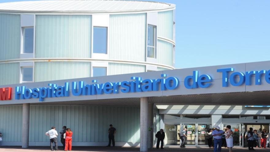 Foto del exterior del Hospital de Torrejón