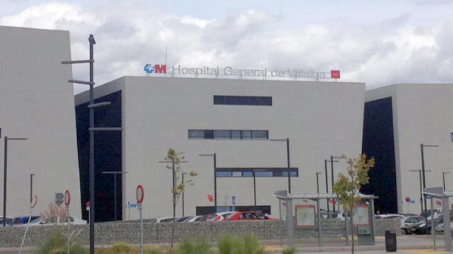 foto del exterior del hospital de Villalba