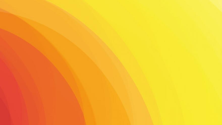 Sol amarillo.naranja