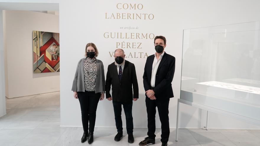 Organizamos una exposición retrospectiva del artista Guillermo Pérez Villalta
