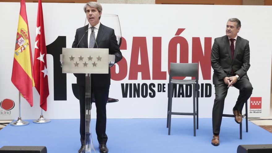 Garrido felicita al sector vinícola madrileño, cuyos caldos son cada vez más reconocidos