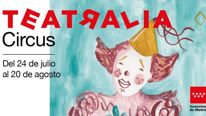 Cartel del evento Teatralia Circus