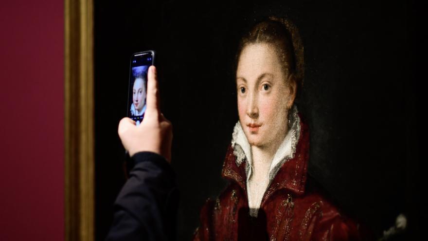 Exposición a las artistas Sofonisba Anguissola y Lavinia Fontana
