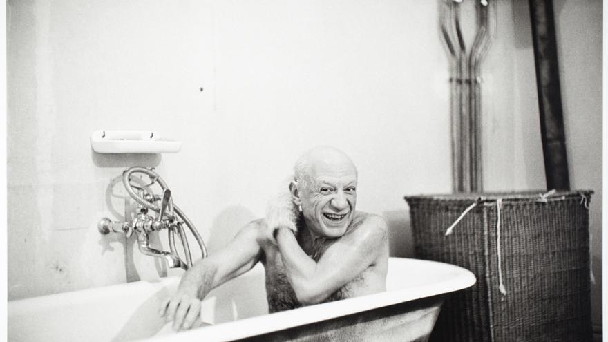 Foto de Picasso de la colección Eugenio Arias