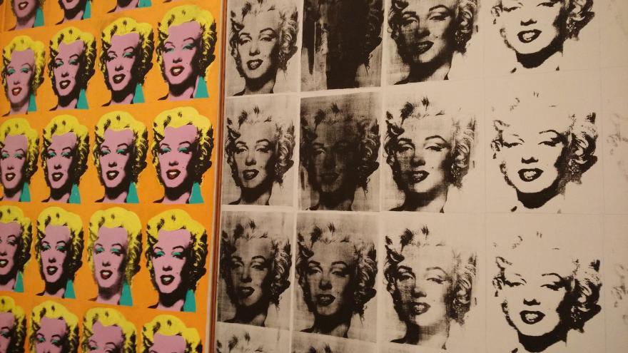 Marilyn Monroe, obra de Andy Warhol
