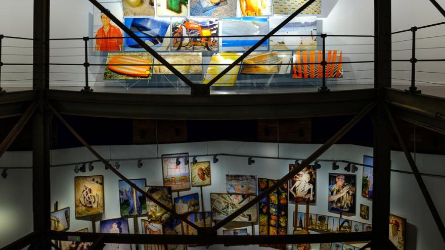 Sala Canal de Isabel II - Exposición Ricardo Cases