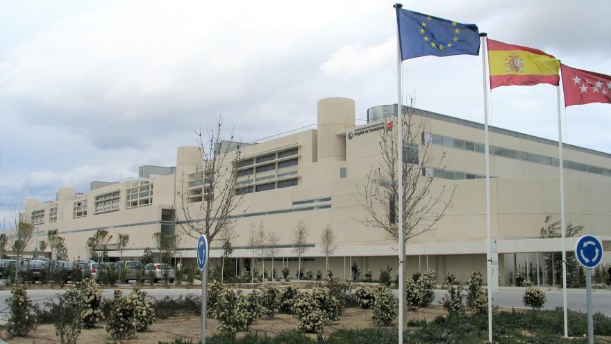 Fachada Hospital de Fuenlabrada