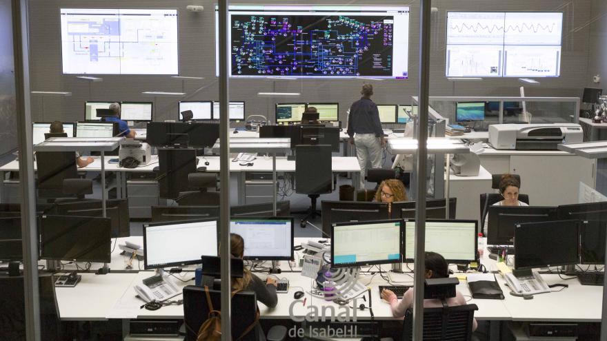 Centro de Control de Canal