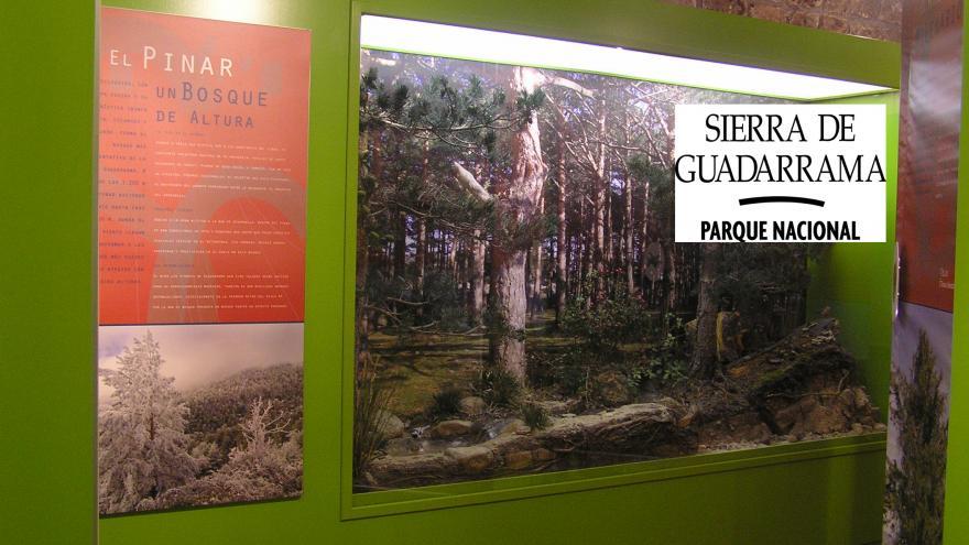 Exposición Sierra de Guadarrama en Centro La Pedriza
