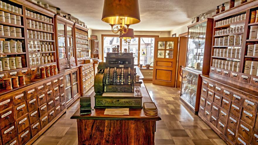 interior farmacia
