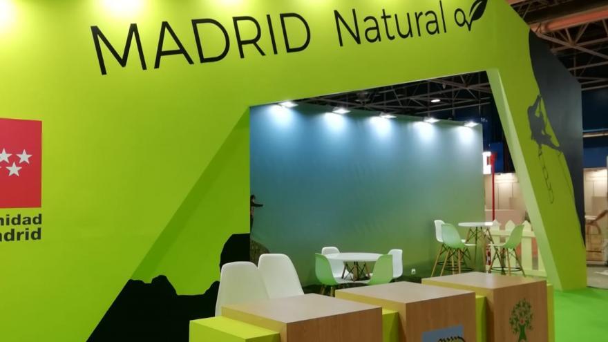 Imagen del estand de la Comunidad de Madrid