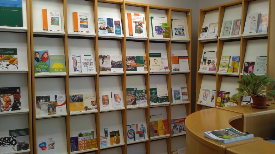 Mostrador Centro Documentación Educación Sanitaria