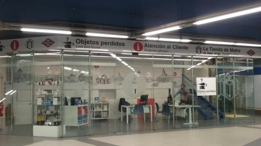 Centro de Atención al Cliente y Objetos Perdidos