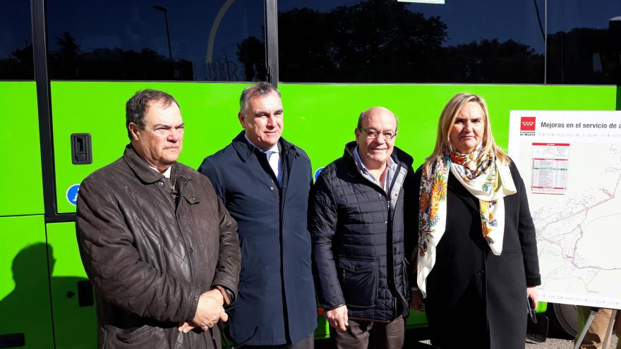 Autobuses interurbanos de la empresa De Blas