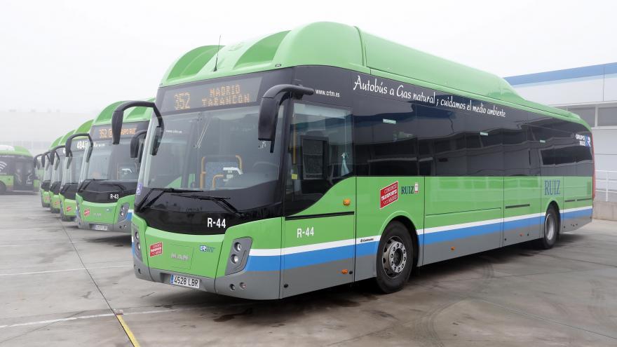 Nuevos autobuses interurbanos sostenibles