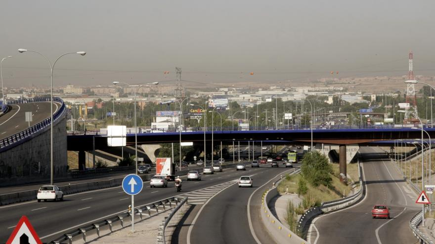 Madrid_Tráfico en carretera de circunvalación