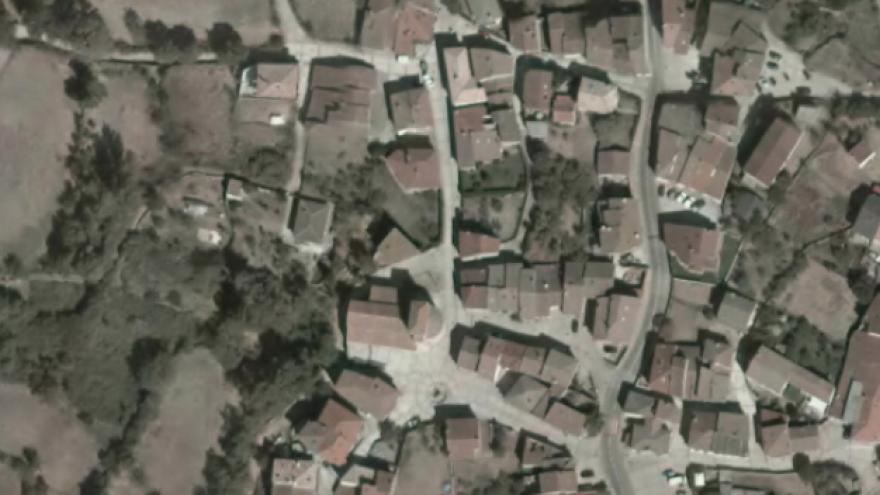 Vista aérea de Prádena del Rincón