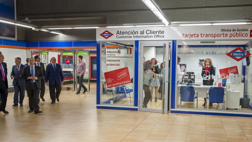 Oficina de atención al ciudadano del Consorcio Regional de Transportes de la Comunidad de Madrid