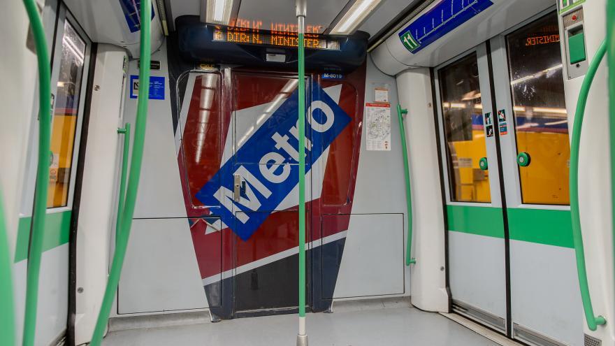 Vagón de Metro de Madrid