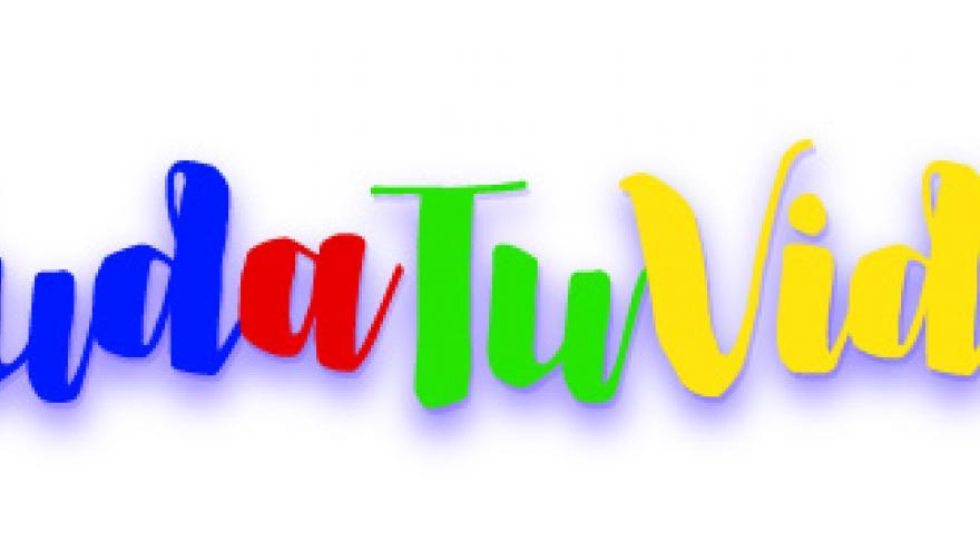 palabra saludatuvida con colores