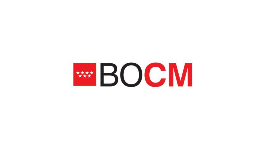 Resultado de imagen de bocm comunidad de madrid