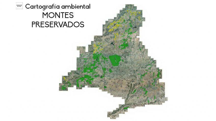 Mapa Montes Preservados