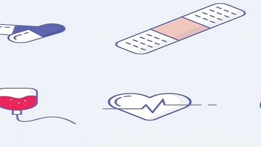 Dibujos de símbolos sanitarios