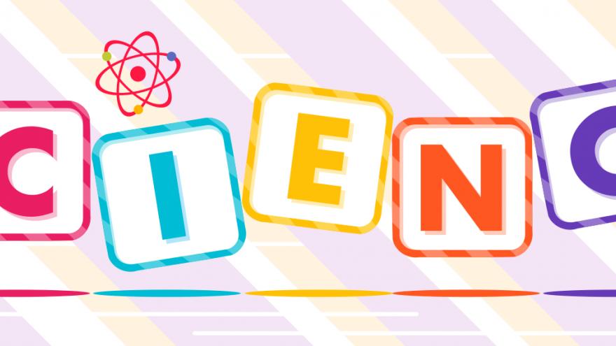 Texto ciencia de colores