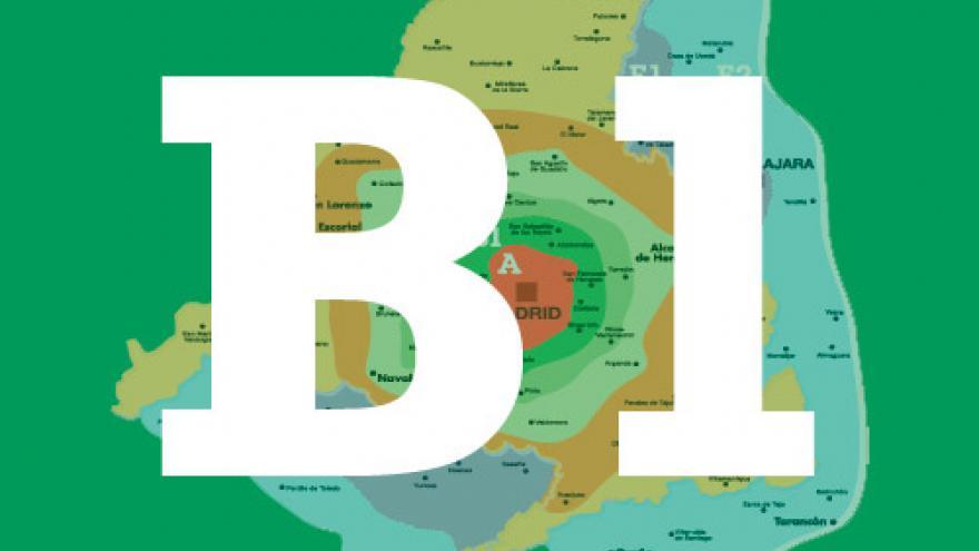 Mapa De Zonas Renfe.Zonas Tarifarias Comunidad De Madrid