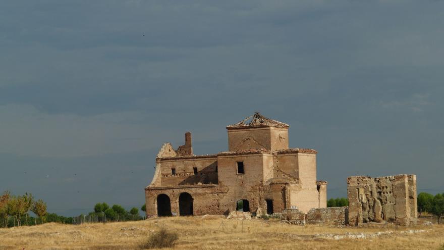 Ruinas iglesia de Polvoranca