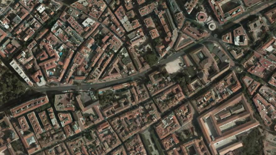 Vista aérea de Alcalá de Henares