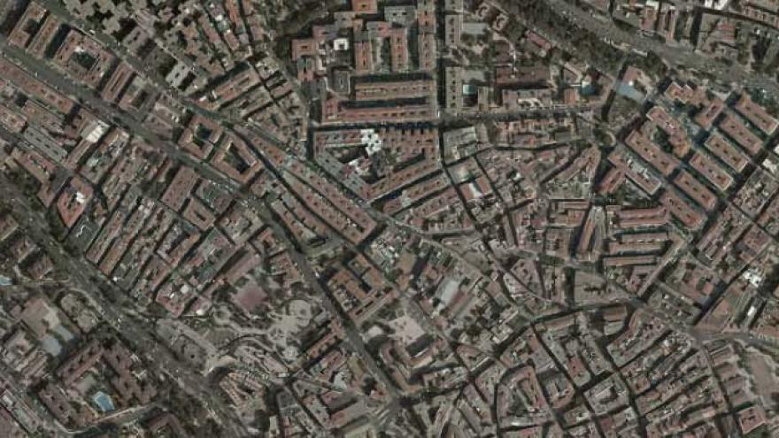 Vista aérea de Alcobendas