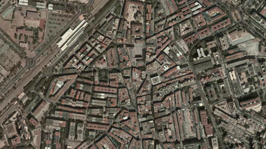 Vista aérea de Alcorcón