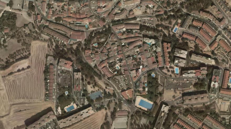 Vista aérea de Algete