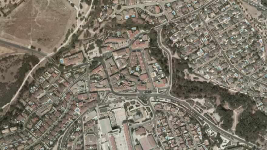 vista aérea de Arroyomolinos