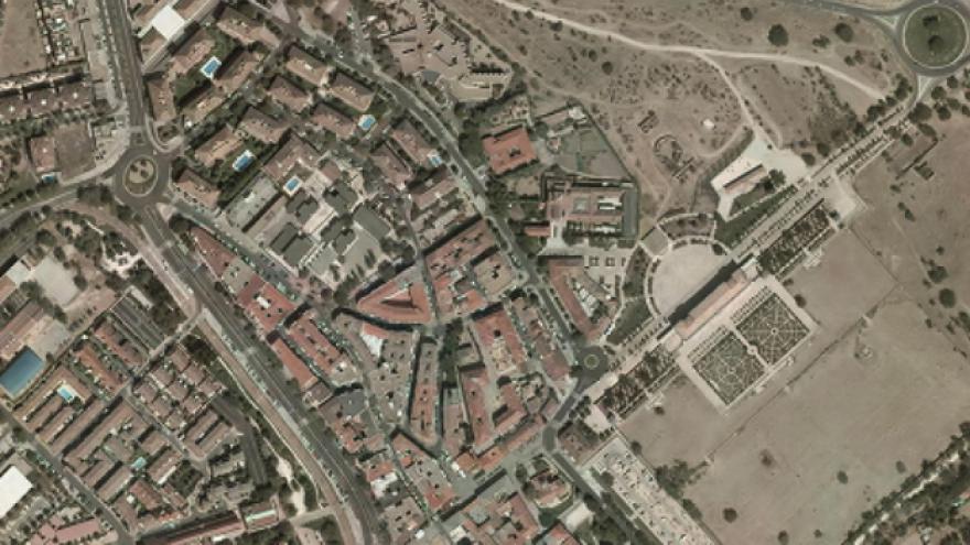 Vista aérea de Boadilla del Monte