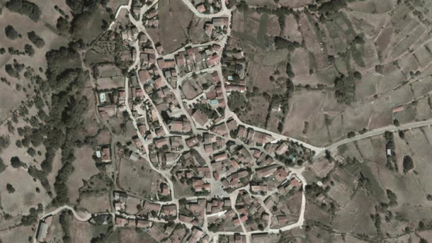vista aérea de Braojos