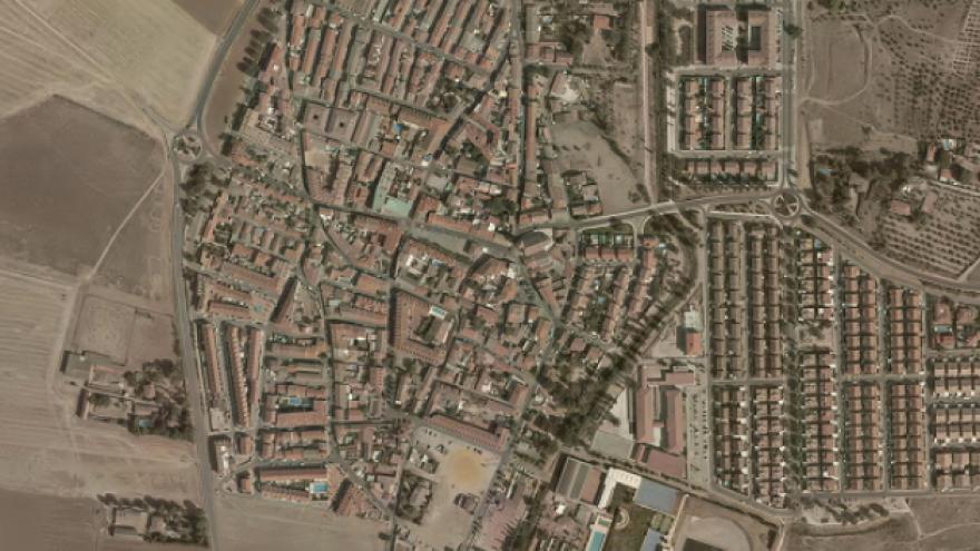 Vista aérea de Carabaña