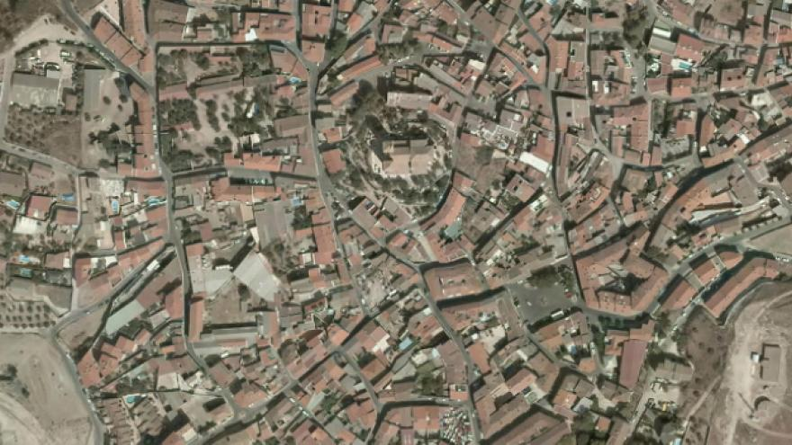 Vista aérea de Campo Real