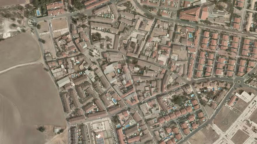 Vista aérea de Casarrubuelos