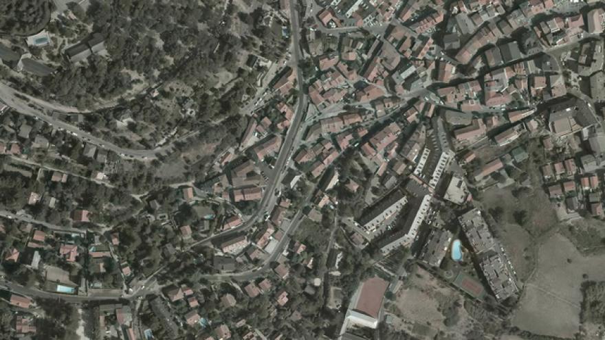 Vista aérea de Cercedilla