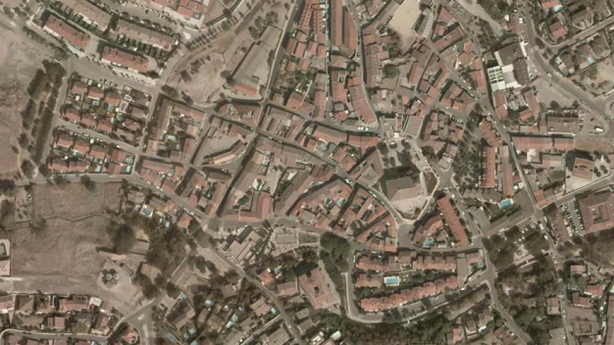 Vista aérea de Cobeña