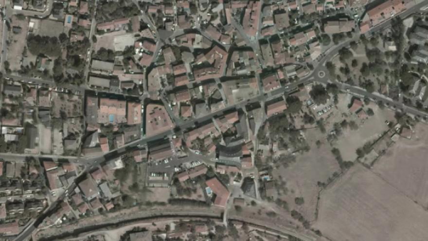 Vista aérea de Collado Mediano