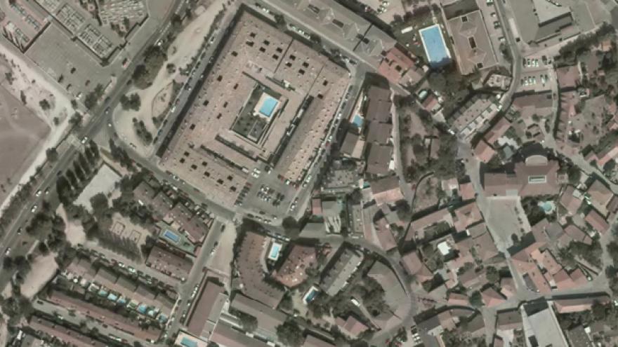 Vista aérea de Collado Villalba