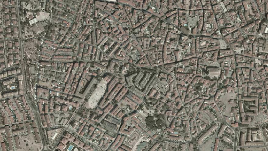 Vista aérea de Colmenar Viejo
