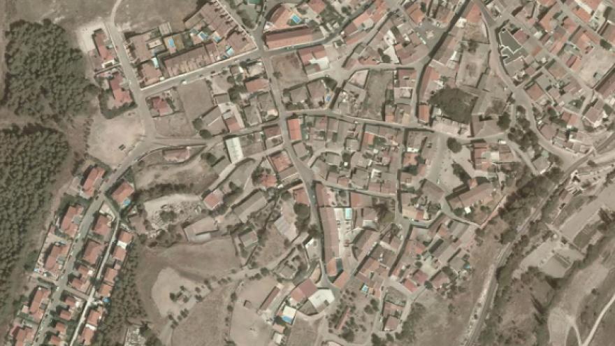 Vista aérea de Corpa